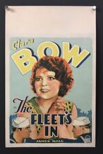 The Fleet's In Original Movie Poster 1928 Clara Bow  *Hollywood Posters*