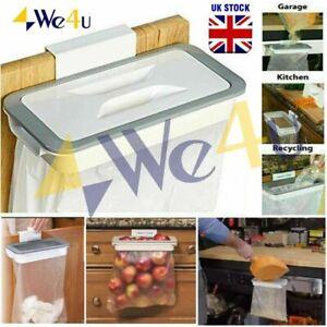 We4u Removable Attach-A-Trash Hanging Bag Holder Home Kitchen Rubbish Waste Bin