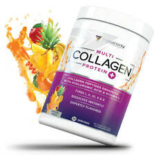 Flavored Multi Collagen Peptides PLUS: Hydrolyzed Collagen Plus Hyaluronic Acid