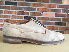 Mens MR. B's By ALDO Sz 8 Brown Suede Leather Oxford Shoes V34(4)