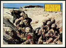 The Desert Rats #142 Desert Storm 1991 Merlin Sticker (C959)