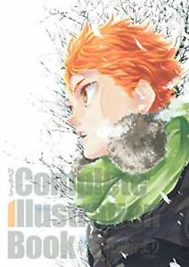 Haikyu !! Complete Illustration Book End and Beginning Japanese From JAPAN /DHL