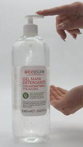 1000 ml Desinfektionsmittel Handgel 71% Alkohol Gel Handdesinfektion Spender 1 l
