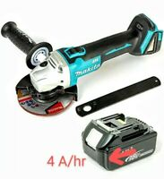 Makita DGA504Z 18V BRUSHLESS Angle Grinder 125mm With 1 x 5Ah Battery