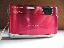 fujifilm z70 12 megapixel digital camera/ pink.