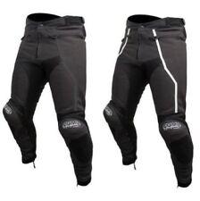 Pantalones negros ARMR Moto de rodilla para motoristas