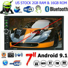 Android 9.1 2GB RAM Car GPS Stereo Multimedia Player 7'' 4G FM Radio MP5 NO DVD