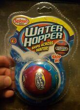 Splash Fun Water Hopper Skips Across Water Doesn't Sink Great Dog Toy (Aa2)