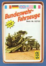 Quartett - Bundeswehr-Fahrzeuge - FX Schmid - Nr. 52722 - Kartenspiel - FXS