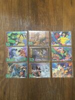 1994/95 Fleer Ultra X-Men Wolverine's Greatest Battles Mixed Set (9 Cards)