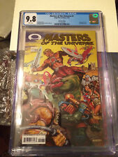 Gold foil Masters of the Universe #1 CGC 9.8 new case He-Man Image wrap cover