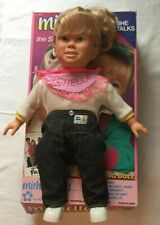 Meritus Full House  Michelle Plastic Talking Doll W/ Original Box. Tested