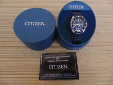 OLD STOCK DEMONSTRATOR CITIZEN 200M STAINLESS DIVER WATCH TRIPLE BLACK BOXED SET