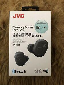 JVC MEMORY FOAM EARBUDS HA-A10T (BRAND NEW) Black