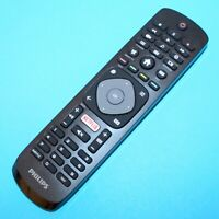 Genuine Philips Remote Control For 49PUT4900 49 Inch 4K Ultra HD Freeview HD TV