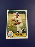 1981 Fleer # 110 STEVE GARVEY Los Angeles Dodgers Set Break HALL OF FAME !