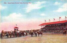 B95313 grand stand frontier park cheyenne wyo horse usa