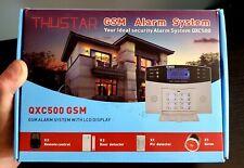 WIRELESS QXC500 LCD SMART HOME HOUSE OFFICE SECURITY BURGLAR GSM ALARM SYSTEM
