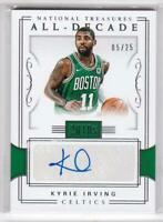 2017-18 Kyrie Irving #/25 Auto Panini National Treasures Celtics