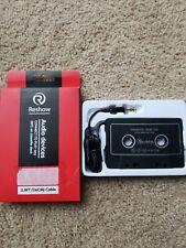 Reshow Re-00005 Car Audio Aux Cassette Adapter 3.8ft cable mp3 on cassette deck