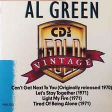 Al Green: Vintage Gold w/ Artwork MUSIC AUDIO CD CD3 Mini Compilation MCAD-37312