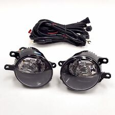 LED Fog Light Set with Switch Wires for Toyota 06-12 Rav4 11-16 Sienna Lexus