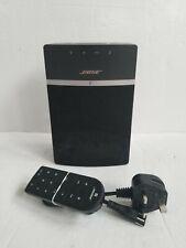 Bose SoundTouch 10 Multi-Room Black Speaker & Remote (WiFi + Bluetooth) 416776