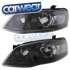 FORD BF '06-'08 BLACK ALTEZZA HEAD LIGHT BF2 SERIES 2 XT FALCON OEM STYLE -LHS-