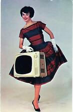 Old Print.  Electrochrome Courier Television Advertisement