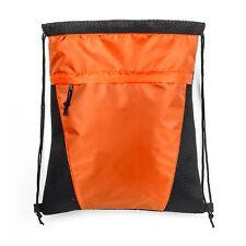 U-TURN AIR MESH SPORT PACK - Draw String Backpack - Orange