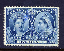 Bigjake: Canada #54, Five Cent Queen Victoria Diamond Jubilee