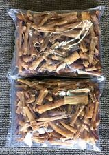 2 Pounds BULLY PIECES Ends & Sticks Dog Dental Chews Treats USA MADE Natural