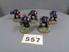 WARHAMMER 40,000 Space Marine Terminator Squad 557