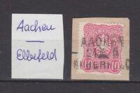 """DR - Bahnpoststempel """"AACHEN - ELBERFELD"""" auf DR (Bfst.) - bitte ansehen !!!"""