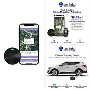 LandAirSea 54 GPS Tracker - USA Manufactured, Waterproof Magnet Mount. Full Glob