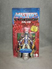 He-Man Masters of the Universe Origins ~ EVIL-LYN ~ MOSC Wave 5 *Unpunched* MOTU