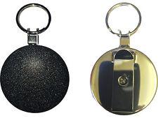 5 x Extra Heavy Duty Reel ID Card Key Holder Steel Wire