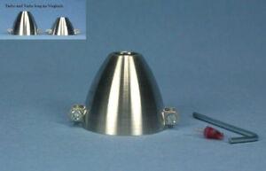 Aluspinner - Turbo long - 40 x 8 x 5,0 mm Simprop Aluminium Spinner E-Motoren