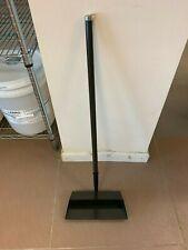 Vintage Black Metal Standing Dustpan: 6 MINIMUM