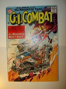 G. I. Combat #108 VG-, 1964, BV=$39, Joe Kubert art, Silver Age Haunted Tank