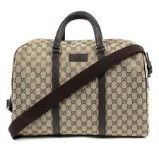 dba18da95d0 Gucci Unisex Classic Luggage Orginal GG Canvas Carry on Duffle Travel Bag  44916