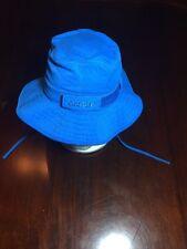 Coolibar Blue Toddler Adjustable Bucket Hat/Cap. TL7