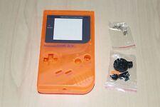 Claro Naranja Nuevo Shell De Repuesto Carcasa Funda Original Nintendo Game Boy DMG01