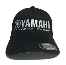 Yamaha Factory Racing hat cap fitted flexfit curved bill red blue s/m xl/xxl YZ
