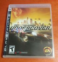 Need For Speed Undercover PlayStation 3 PS3 EA Electronic Arts Black Box  Dolby