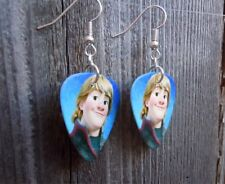 with Surgical Steel Earwires Frozen's Kristoff Guitar Pick Earrings