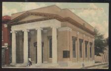 Postcard DE LAND Florida/FL  Volusia County Bank Building 1907