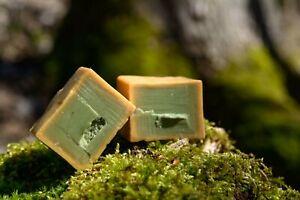 3 Alepposeifen,(3 Jahre gut gereift) 50% reines Olivenöl 50% reines Lorbeeröl.++