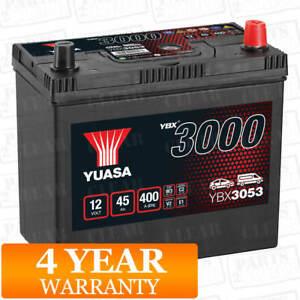 Yuasa Car Battery Calcium 12V 400CCA 45Ah T1/T3 For Honda Accord MK 1 1.6