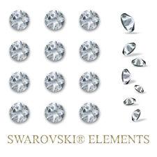24 Swarovski Elements Kristalle Steine selbstklebend Wandtattoo Strass 6,4mm